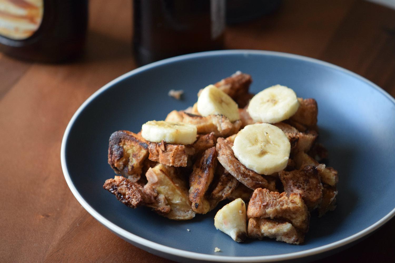 Beer Banana Breakfast Bites