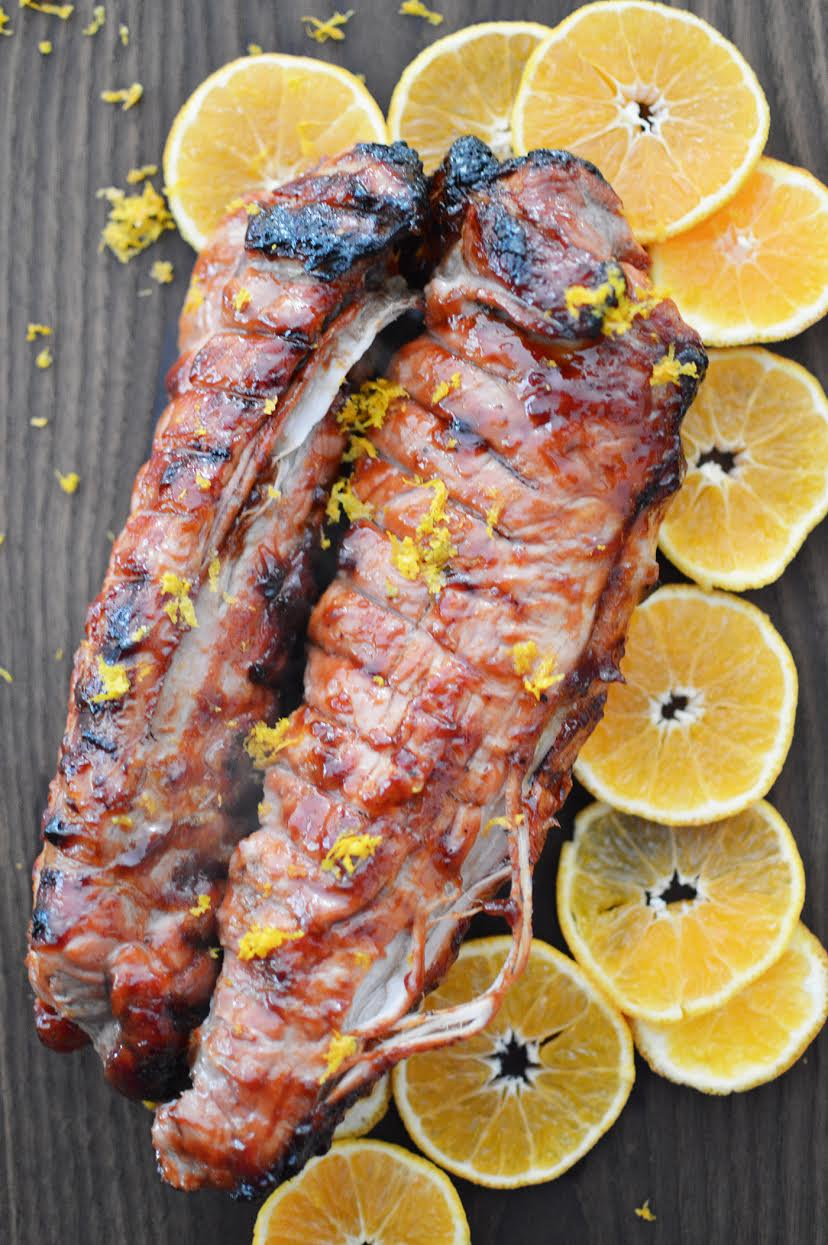 Citrus Glazed Rotisserie Pork Recipe | Foodie Father