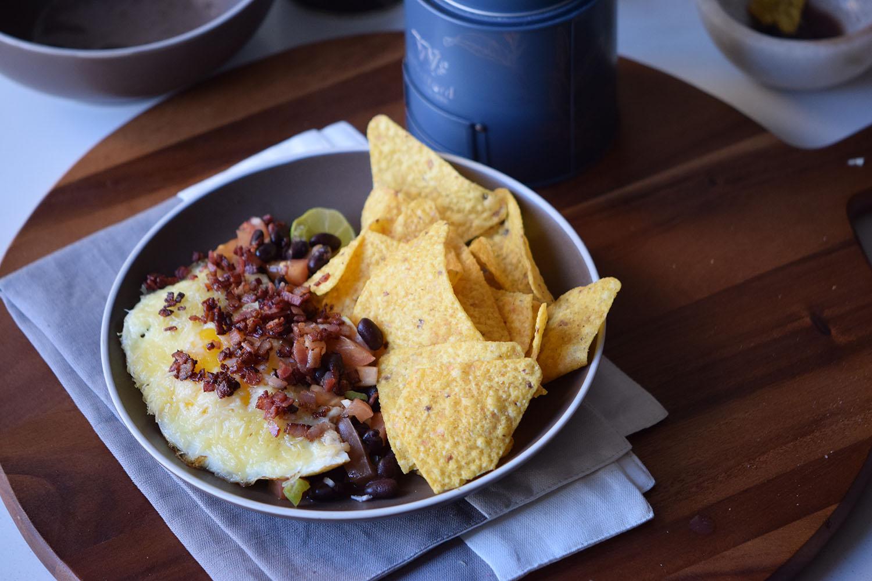 Bacon Huevos Rancheros Recipe