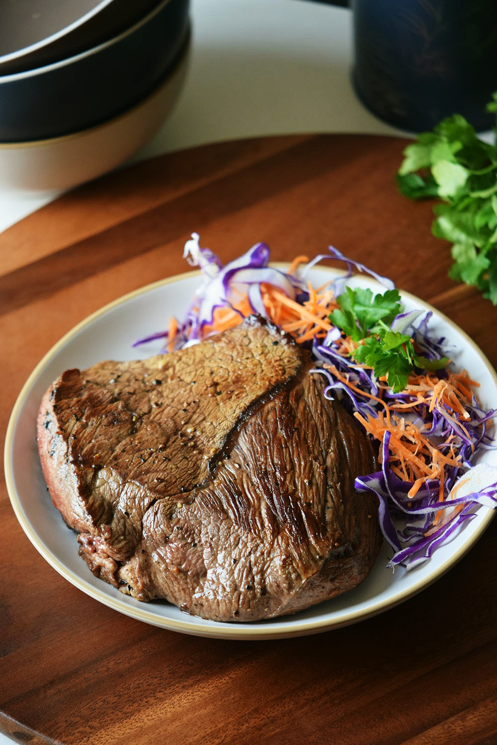 Marinated Asian Steak