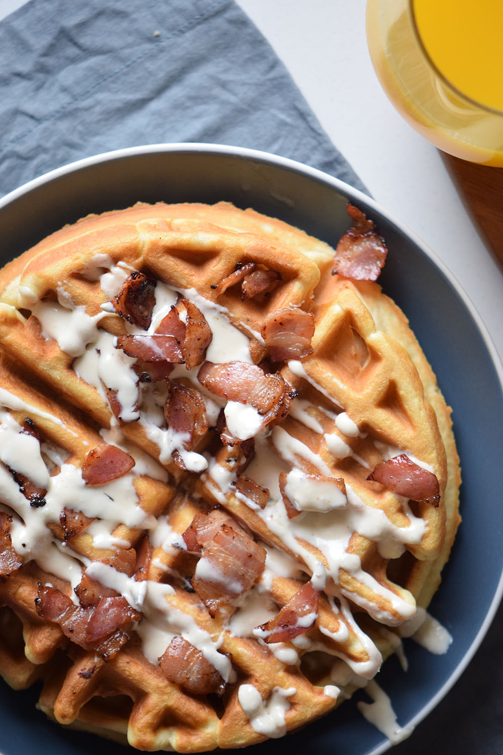 Bacon And Beer Waffles Recipe