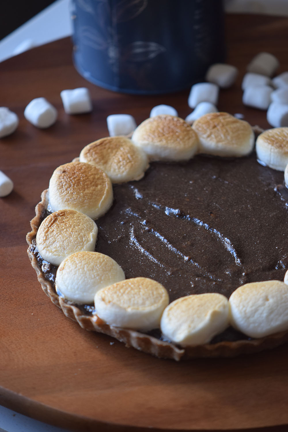 Grilled S'more Pie