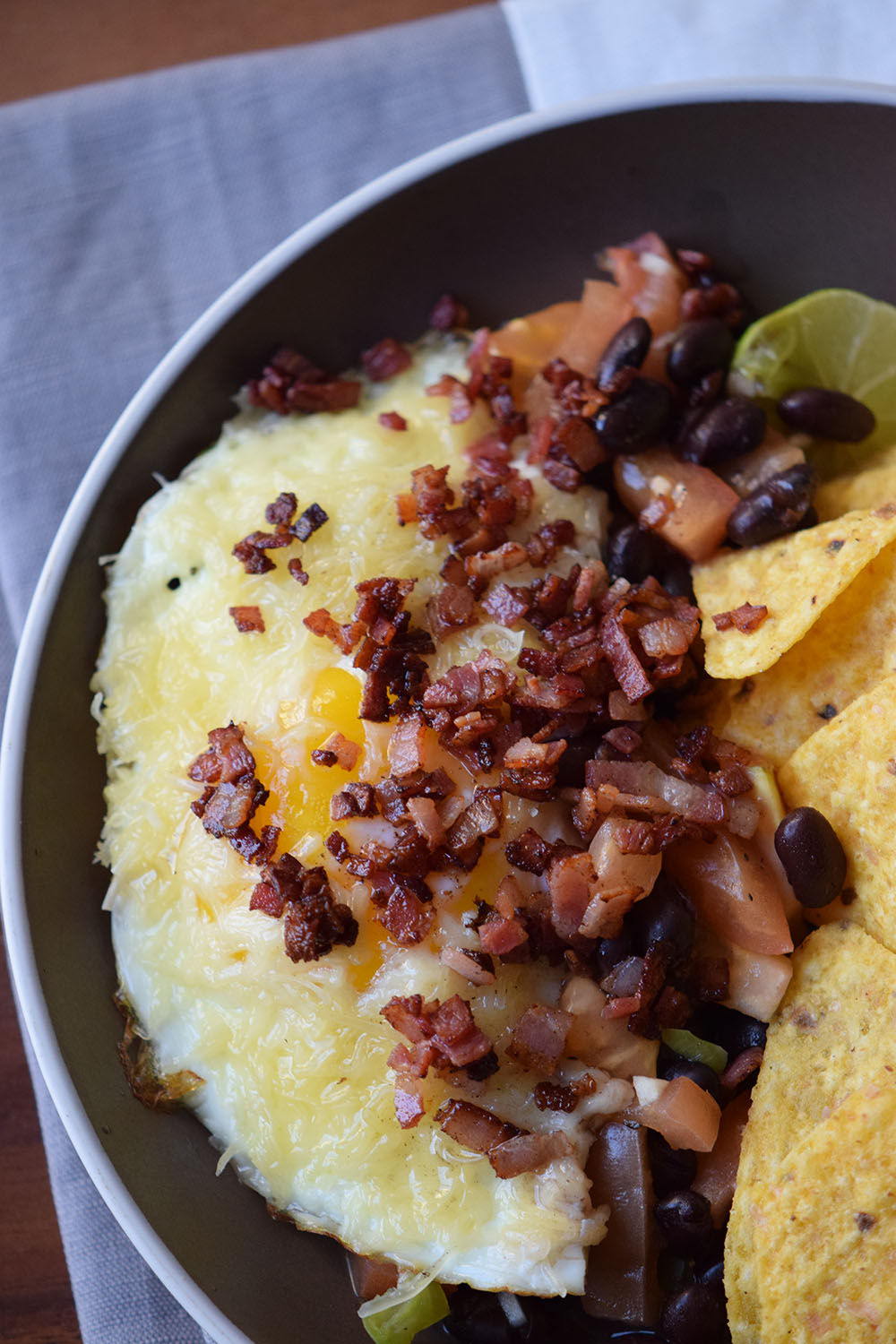Bacon Huevos Rancheros Recipe