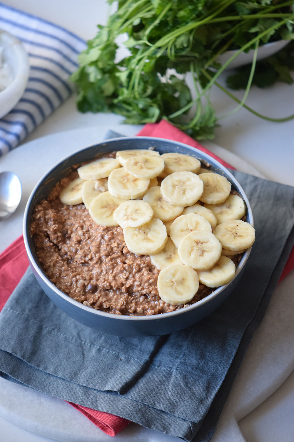 Caramel Banana Oatmeal Recipe