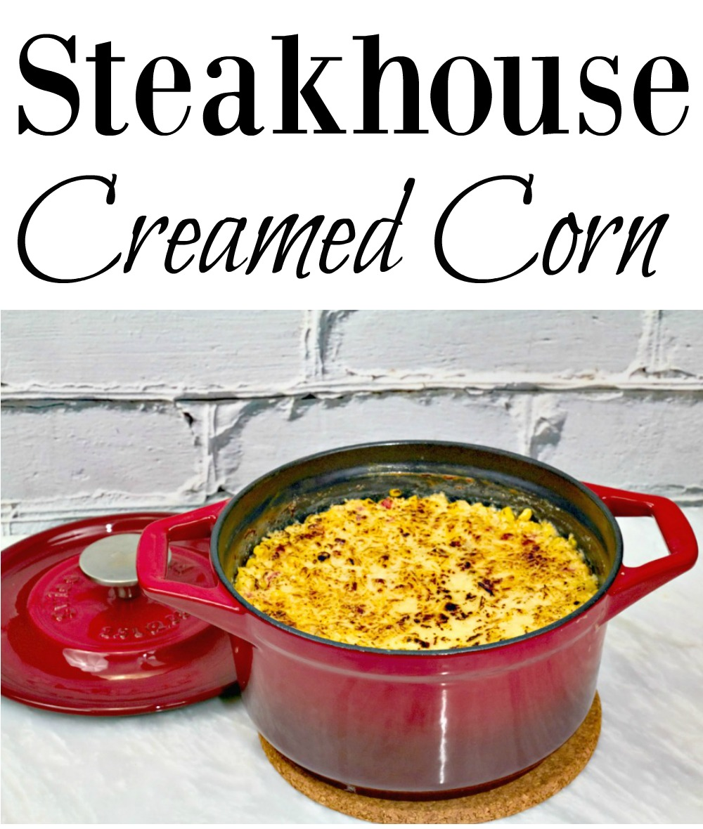 Steakhouse Creamed Corn Recipe