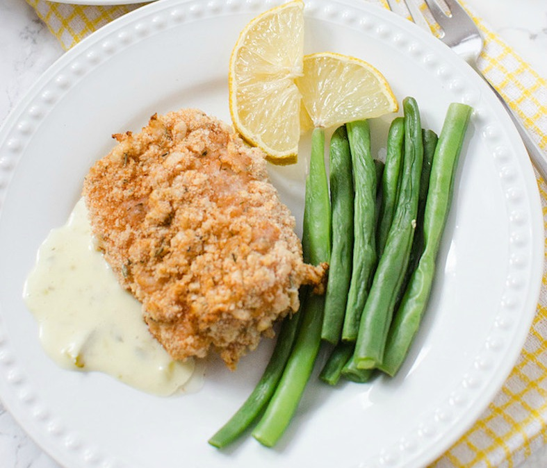 Rice Krispies Coated Oven Baked Cod Recipe