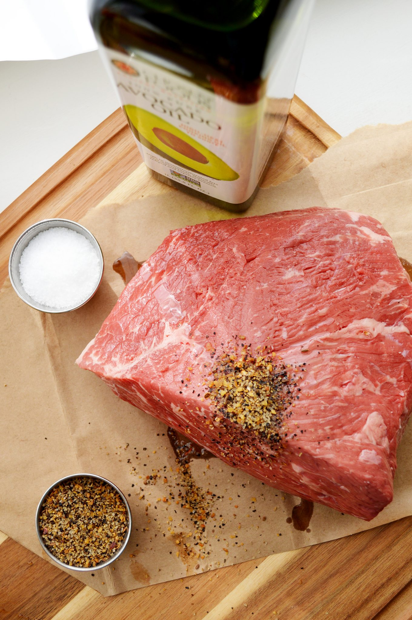 Herb Rubbed Roast Recipe