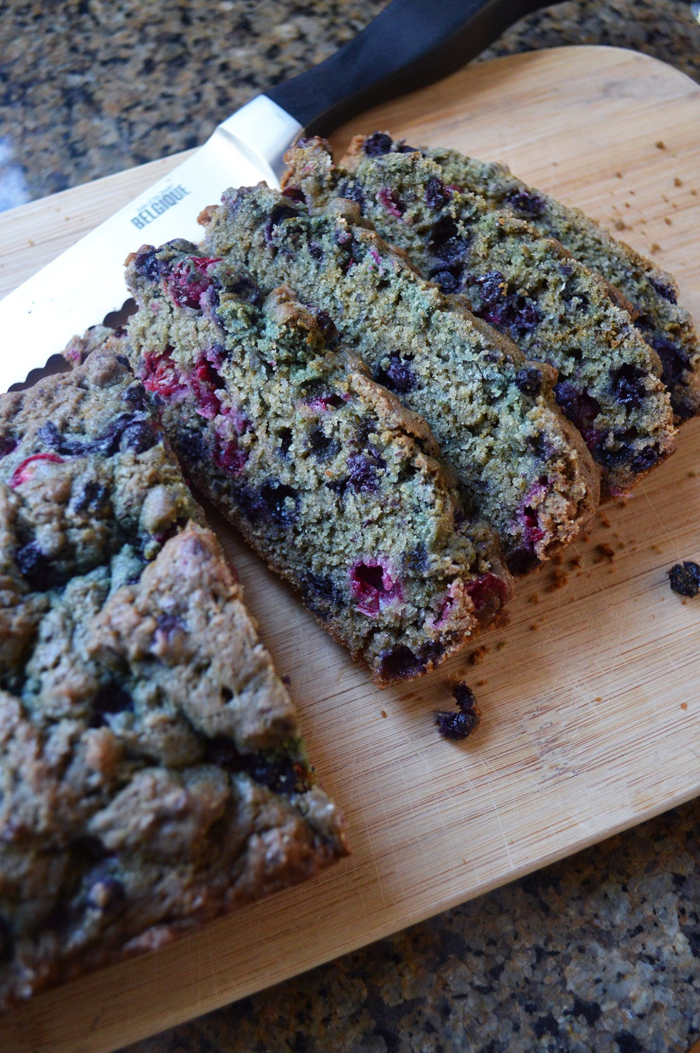 Blueberry cranberry bread recipe