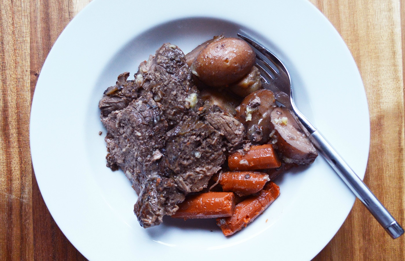 Slow Cooker Lamb Roast Recipe