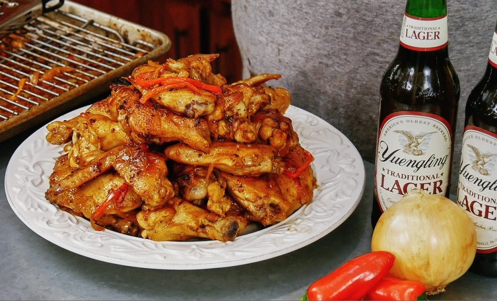 Yuengling Braised Chicken Wings 4