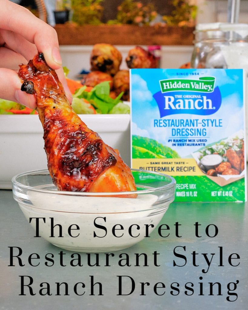 The Secret to Restaurant Style Ranch Dressing 10